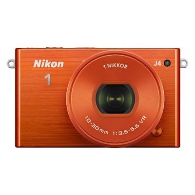 1 J4 Mirrorless Digital Camera with 10-30mm Lens - Orange