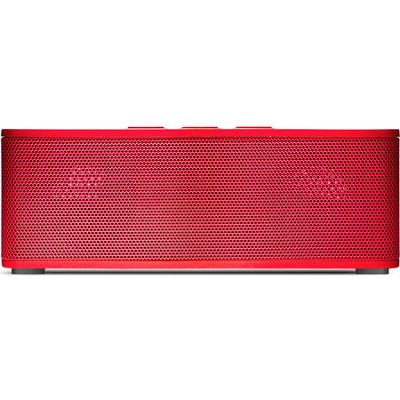 Superior Sound Soundbrick Bluetooth Red Stereo Speaker with Built-in Mic