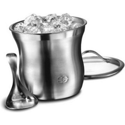 3-pc. Double-Walled Dishwasher Safe Barware Ice Bucket Set - 1757965