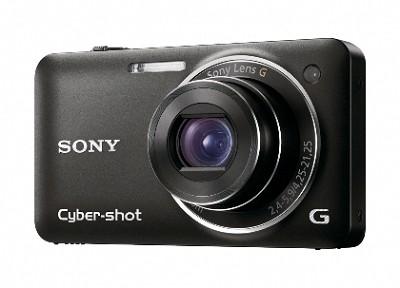 Cyber-shot DSC-WX5 Digital Camera (Black) - REFURBISHED