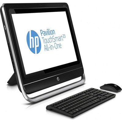 Pavilion TouchSmart 23` HD LED 23-f250 All-in-One Desktop PC - AMD A4-5300 Proc.