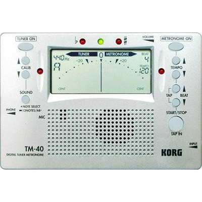 TM-40 Large Display Digital Tuner and Metronome