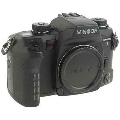 Maxxum 7 35mm SLR Camera Body (Lens Not Included) - OPEN BOX