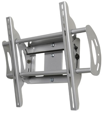 Flat + Tilt Wall Mount for Flat Panel TVs (Silver)