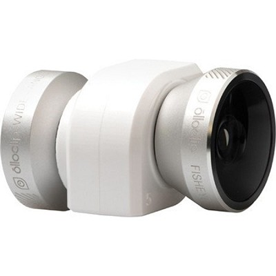 4-in-1 Lens for iPhone 4/4S, Silver