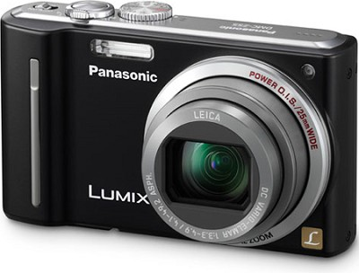 DMC-ZS5K LUMIX 12.1 MP Digital Camera (Black) - REFURBISHED