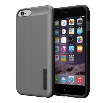 DualPro Shine Case in Gunmetal for iPhone 6 Plus - IPH-1196-GMTLBLK