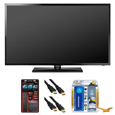 UN50F5000 50` 60hz 1080p LED HDTV Surge Protector Bundle