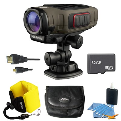 VIRB Elite Dark Action Camera 32GB Kit