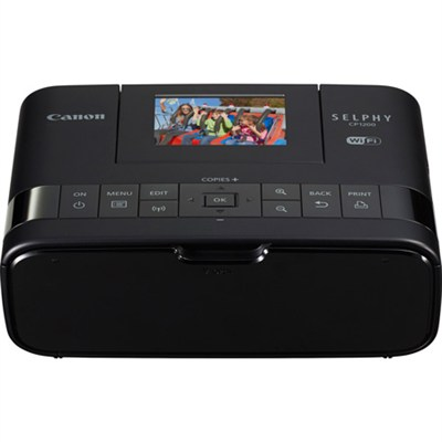 Selphy CP1200 Wireless Compact Black Photo Printer