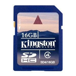 16 GB Class 4 SDHC Flash Memory Card SD4/16GB