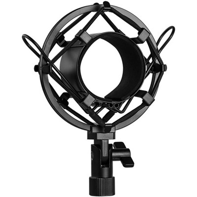 Metal Microphone Shock Mount for 48mm - 54mm Condenser Microphones - SMC-17BK