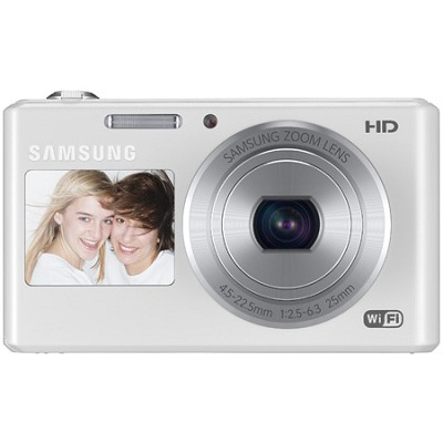 DV150F Dual-View 16.2 MP Smart Camera with Built-in Wi-Fi - White