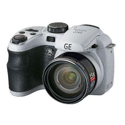 GE Power Pro X500-WH 16 MP with 15 x Optical Zoom  White  - OPEN BOX
