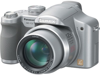 Lumix DMC-FZ8S 7.2 Megapixel Digital Camera (Silver)