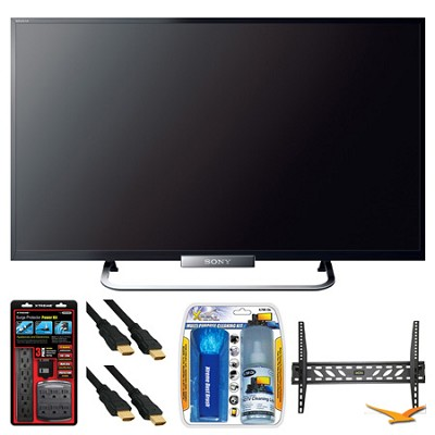 KDL-32W650A 32` LED W650A Series Internet HDTV Wall Mount Bundle