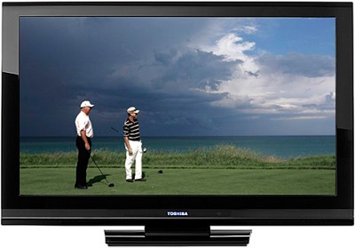 46RV525R - 46` High-definition 1080p LCD TV (Hi-Gloss Black)