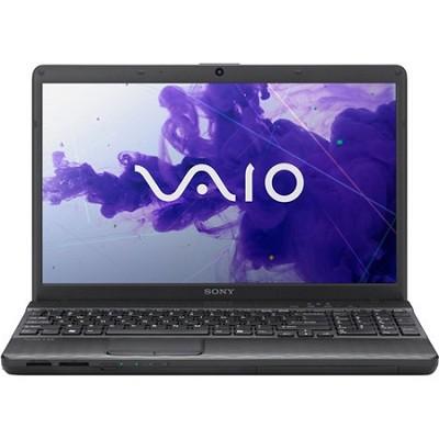 VAIO VPCEH34FX/B 15.5` Notebook PC -  Intel Core i3-2350M Processor