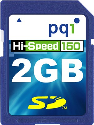 2GB 150X Super-High-Speed Secure Digital Memory Card