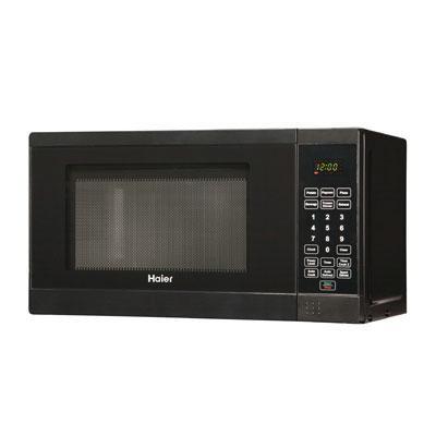 0.7cf 700W Microwave  Black