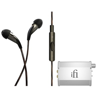 X20i Earbuds w/ Mic & Playlist Control w/ Apple Controls w/ Nano iFi Amp