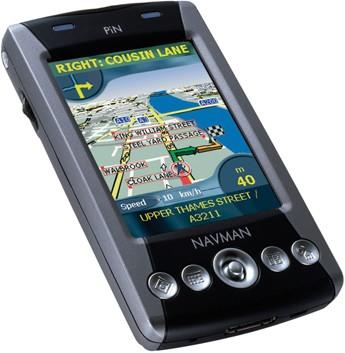 PiN 570 Pocket PC Advanced Mobile Pocket Navigator