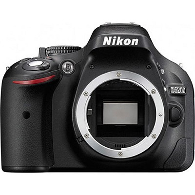 D5200 24.1MP DX-Format Digital SLR Body with 3` Vari-angle LCD