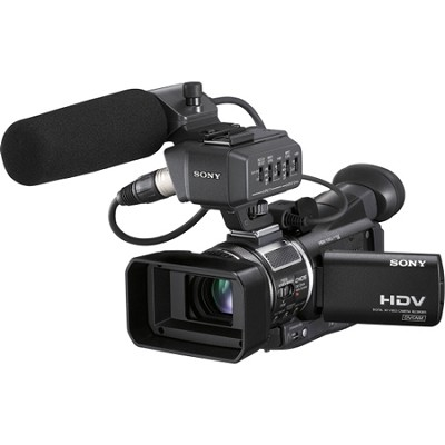 HVR-A1U 1/3-Inch Professional HDV Camcorder