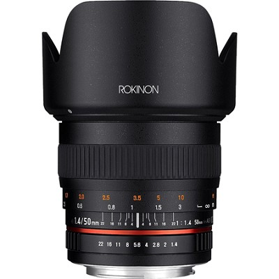 50mm F1.4 Lens for Sony E Mount