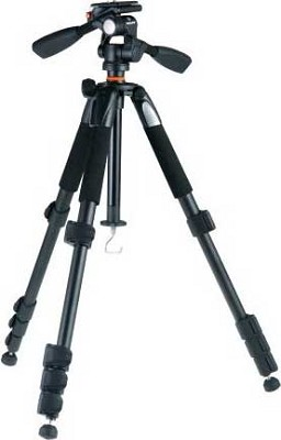 Alta 235AP 5-Section Aluminum Tripod with 3-way Magnesium Alloy Photo Tripod