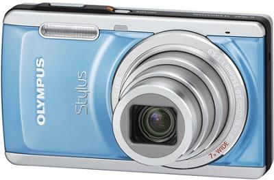 Stylus 7040 14MP 3.0` LCD Digital Camera (Blue) - REFURBISHED
