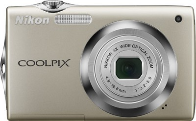 COOLPIX S3000 Digital Camera (Champagne Silver)