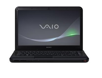 VAIO VPC-EA43FX/BJ 14-Inch Entertainment Laptop (Black) Intel Core i3-380M