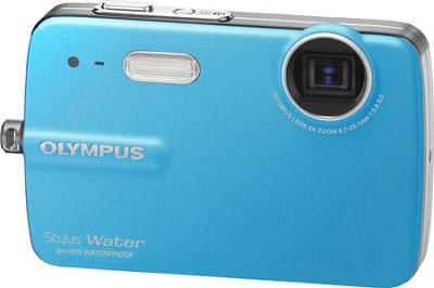 Stylus 550 10MP Waterproof Digital Camera (Blue) - Open Box
