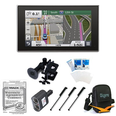 nuvi 3597LMTHD 5` Bluetooth GPS with Lifetime Maps and Traffic Ultimate Bundle