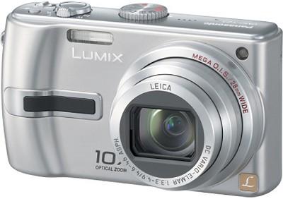 DMC-TZ3S Lumix 7.2 mega-pixel Digital Camera (Silver) w/ 10x Optical Zoom
