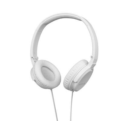 DTX 350p Foldable Headphones (White)