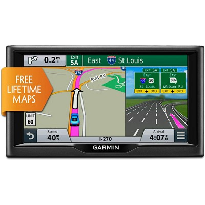 nuvi 67LM 6-inch GPS Navigation System w/ Lifetime Map Updates