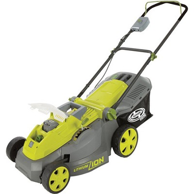 iON16LM 40 V Cordless 16` Lawn Mower with Brushless Motor