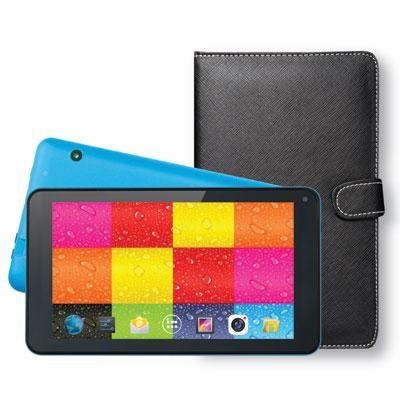 7` Tablet w Keybrd Case Blue