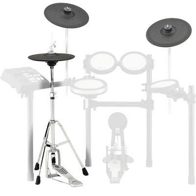 Cymbal set for DTX700K, 530K, 560K: PCY135 (2), RHH135, HS-650A, cables