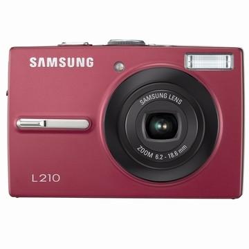 L210 10MP 2.5` LCD Digital Camera (Red)