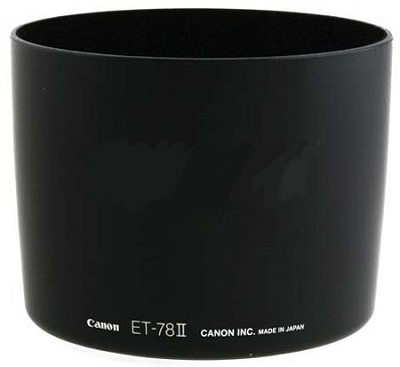 ET-78II Lens Hood for Canon EF 135 f/2L USM, EF 180 f/3.5L Macro USM