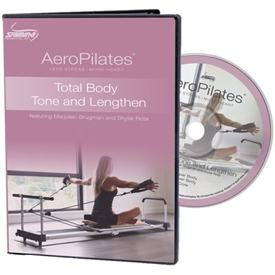 AeroPilates Total Body Tone & Lengthen DVD (05-9135D)