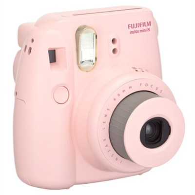 Instax 8 Color Instax Mini 8 Instant Camera - Pink - OPEN BOX