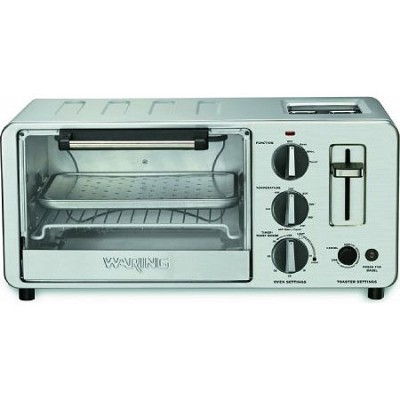 WTO150 4-Slice Toaster Oven with Built-In 2-Slice Toaster