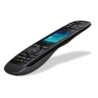 Harmony Touch Universal Remote with Color Touchscreen - Black - OPEN BOX