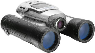 8x30 CaptureView WATERPROOF Binocular with Built-in 3.2 Megapixel Digital Camera
