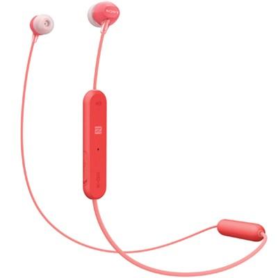 WI-C300 Stamina Wireless In-Ear Headphones w/ Bluetooth - Red (WIC300/R)
