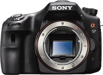 Alpha SLT-A57 16.1 MP Digital SLR Body Only
